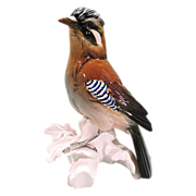 SALE Karl Ens Porcelain Bird Figurine Jay Bird No 7098 Large