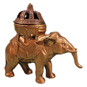 SALE Vantine's Elephant Incense Burner