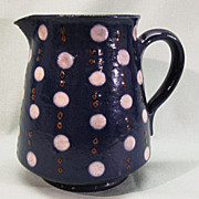 Elchinger et Cie French Stoneware Yelloware Pitcher