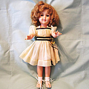 1950s Ideal Shirley Temple Doll ST-17-1 with Flirty Eyes