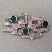 Abstract Modernist Pin Lind Gal