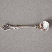 Gorham King Edward Sterling Silver Salt Spoon