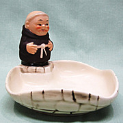 Goebel Friar Tuck Monk Candy Dish TMK 4