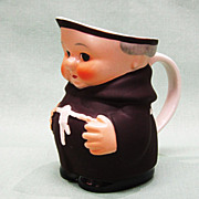 Goebel Friar Tuck Monk Creamer Pitcher Tmk 3