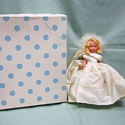Nancy Ann Storybook Doll February Girl in Box with Tag NASB