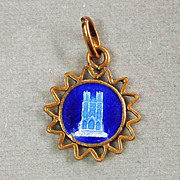 Catholic Tiny Medal Reims Cathedral France