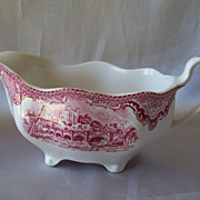 Johnson Bros. Ironstone Old Britain Castles Sauce Boat