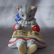Kitty Cucumber  Figurine By Schmid