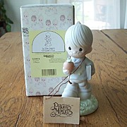 Enesco Precious Moments To The Apple Of God's Eye