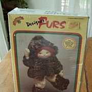 Designer Furs Coat Kit For Doll