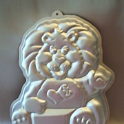 Wilton Brave Heart Lion Cake Pan 1984 Care Bears