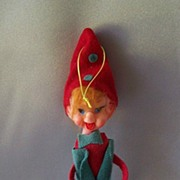 Made In Japan Elf / Pixie Ornament
