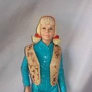 Vintage Marx Josie West Action Doll