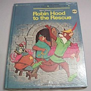 Golden Book Walt Disney Robin Hood To The Rescue