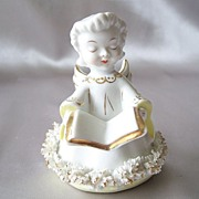 Pretty Vintage Ceramic Angel Figurine