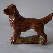 Wade Irish Setter Dog Figurine