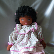 Pauline B Joness Jacobson Black Cloth Doll