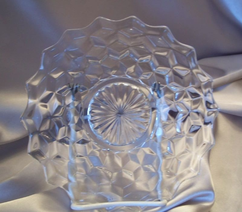 American Fostoria Crystal Salad Plate