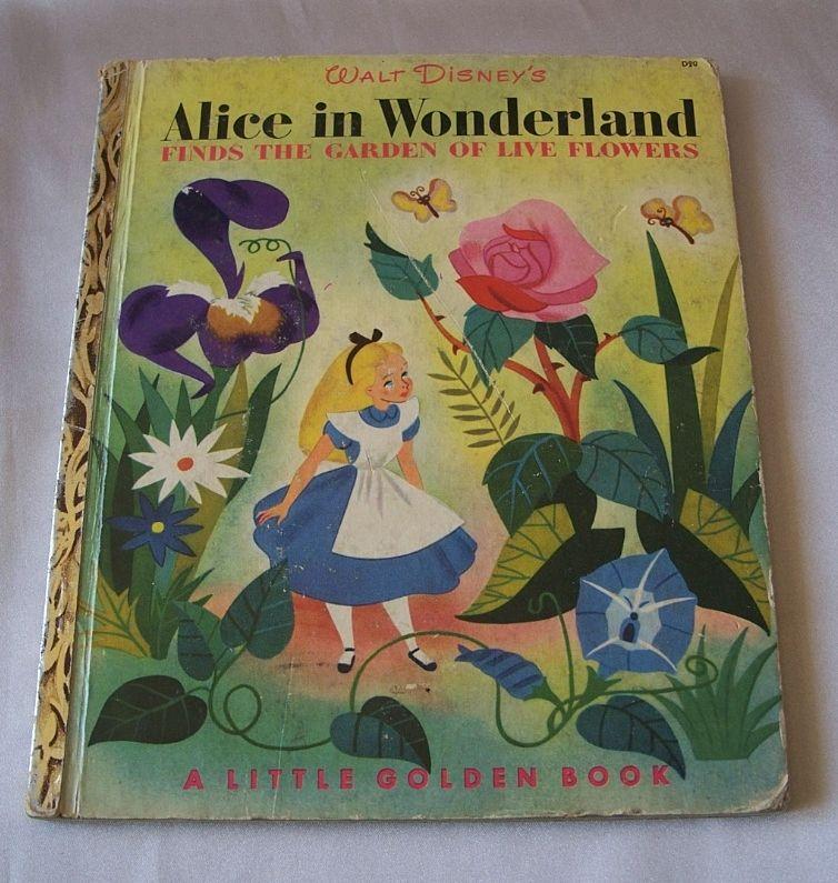 Little Golden Book Walt Disney's ALice In Wonderland from ...