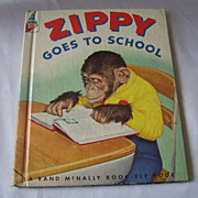 Zippy Goes To School Elf  Book