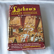 Luchow's German Cookbook By Jan Mitchell