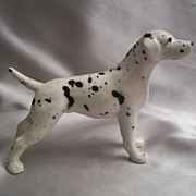 Wales Dalmatian Ceramic Dog Figurine