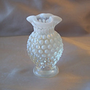 Fenton  Art Glass Opalescent Hobnail Vase