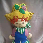 Strawberry Shortcake Huckleberry Pie Pillow Doll