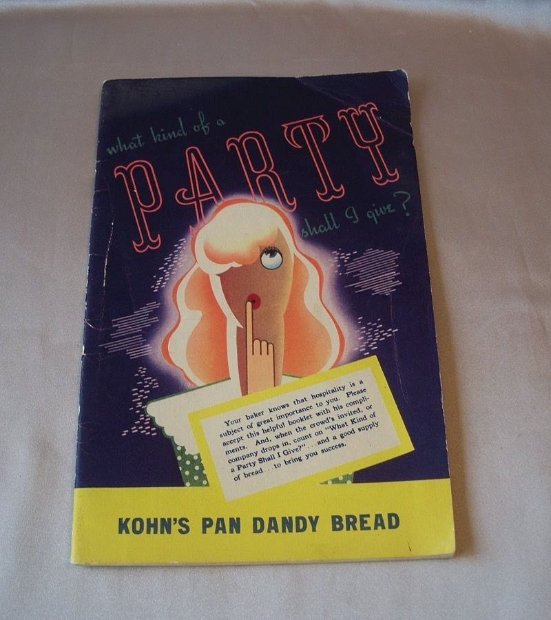 Pan Dandy Bread Advertising Party Booklet