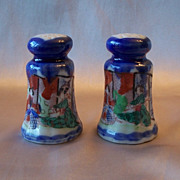 Beautiful Ceramic Japanese Salt and Pepper Shakers