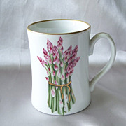 Fitz And Floyd Asparagus Vegetable Harvest Mug
