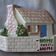 California Pottery Cleminsons Cottage Wall Pocket