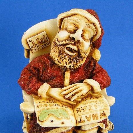 Harmony Kingdom Jingle Bell Rock Santa - Ltd Ed 1st Version from ...