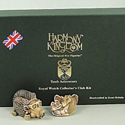 SALE Harmony Kingdom 2005 Club Kit Punk Hedgehog Redux 10th Anniversary
