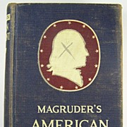Magruder�s American Government, Revised by William A. McClenaghan, Dept. of Political Science,
