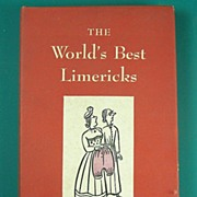 SALE The World�s Best Limericks, Illustrated by Richard Floethe, 1951