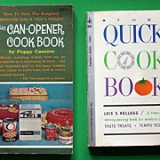 "Pair of Paperback Cookbooks: ""The Quick Cookbook"" (by Lois Kellogg, 1961), ""The"
