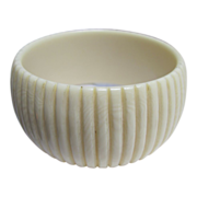 SALE ART DECO Celluloid carved French Ivory Bangle