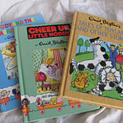 SALE 3 Noddy Reprinted from 80's & 90's