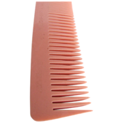 SALE Art Deco NOS Twin Cut Galalith British made Coral Comb