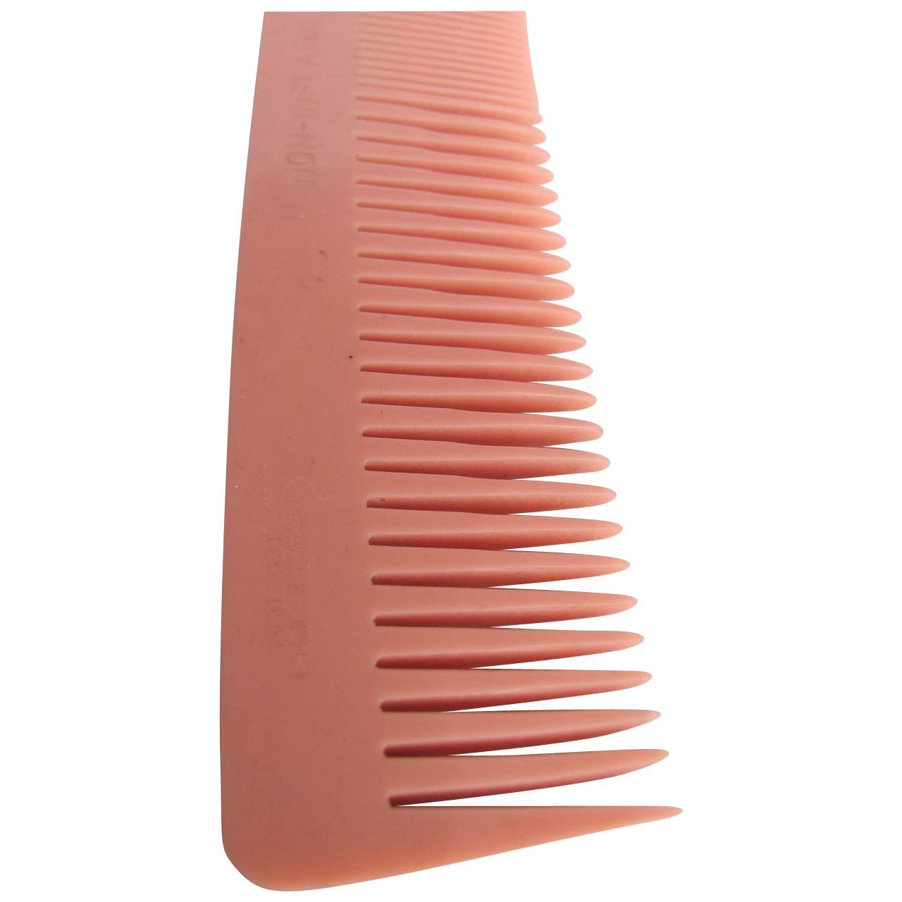 Art Deco NOS Twin Cut Galalith British made Coral Comb