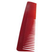 SALE Art Deco NOS Twin Cut Galalith British made Red Comb