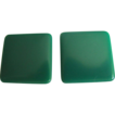 Vintage Square GREEN Lucite Pierced Earrings 2 for 1 offer