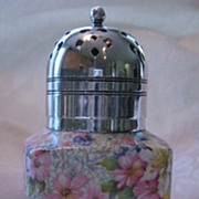 "SALE Royal Winton Chintz Sugar Shaker ""Marion"""