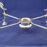 SALE Georgian Sterling Silver Dish/Plate Cross Warmer WILLIAM PLUMMER