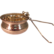 Vintage Sterling Silver Kettle Tea Pot Strainer