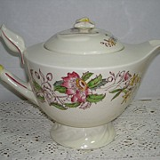 Vernon Kilns Dolores Teapot Tea Pot