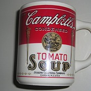 Vintage Ceramic Campbell's Tomato Soup Coffee Mug
