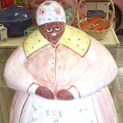 SALE Sweet Black Americana Mammy Aunt Jemima cookie jar