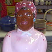 SALE SALE Charming Black Americana Aunt Jemima Mammy cookie jar